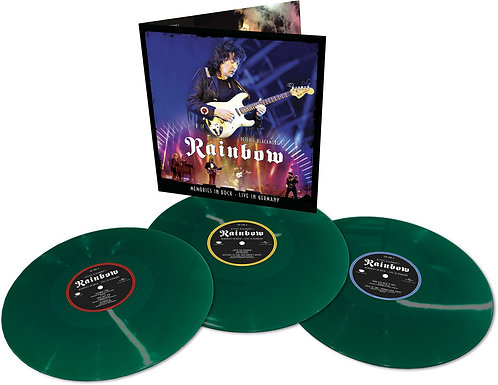 Ritchie Blackmore's Rainbow | Memories In Rock: Live In Germany | Green 3LP