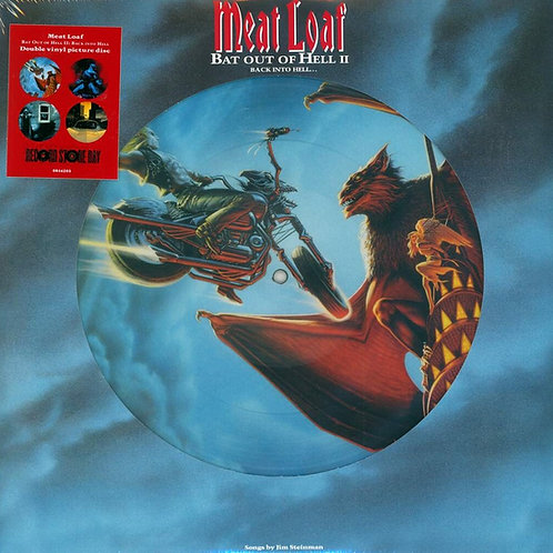 Meat Loaf | Bat Out Of Hell II: Back Into Hell | 2LP Picture Disc | NAD2020