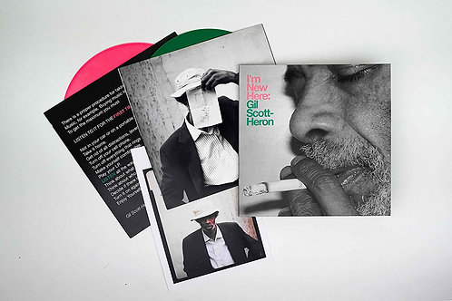 Gil Scott-Heron | I'm New Here| 10th Anniversary Expanded Edition Pink/Green 2LP