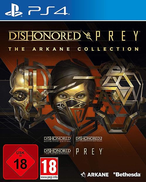 Dishonored & Prey: The Arkane Collection | PS4