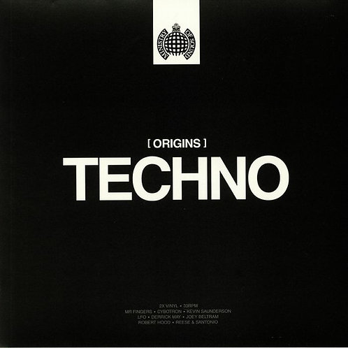 Various | Ministry Of Sound: Origins Of Techno | 2LP