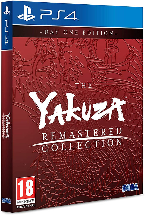 The Yakuza Remastered Collection | PS4