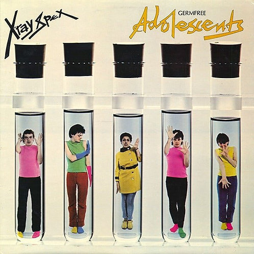 X-RAY Spex | Germfree Adolescents | Clear LP