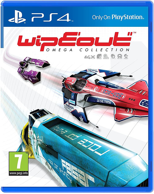 Wipeout: Omega Collection (PSVR Compatible)   PS4