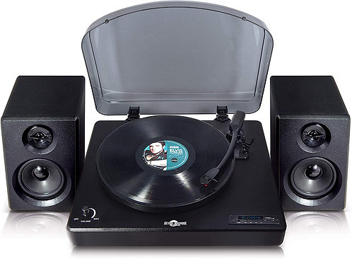 Retro Musique Bluetooth Table Top Turntable