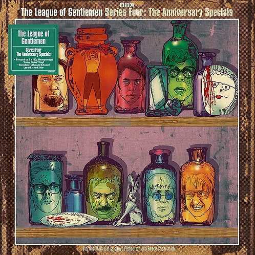 League Of Gentleman | Series 4: The Anniversary Specials | Snowglobe Clear 2LP