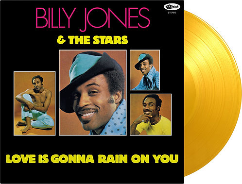 Billy  Jones & The Stars | Love Is Gonna Rain | 1LP Translucent Yellow LP
