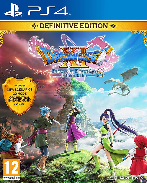 Dragon Quest XI S: Echoes Of An Elusive Age Definitive Edition | PS4