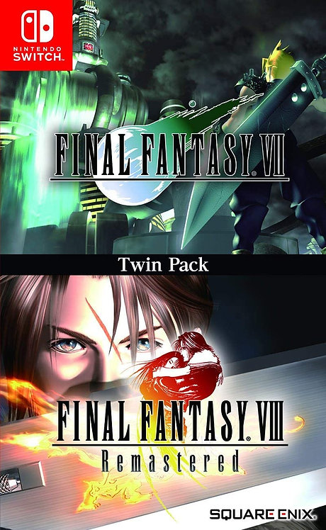 Final Fantasy VII & VIII Remastered Twin Pack | Switch