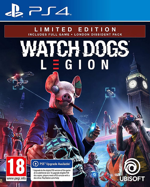 Watch Dogs Legion: Limited Edition | PS4