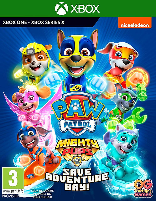 PAW PATROL MIGHTY PUPS SAVE ADVENTURE BAY! | Xbox One