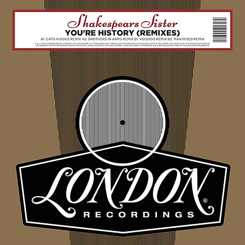 Shakespears Sister | You're History (Remixes) | RSD2020