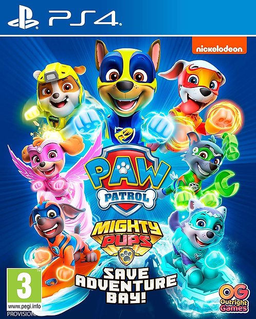 Paw Patrol: Mighty Pups Save Adventure Bay | PS4