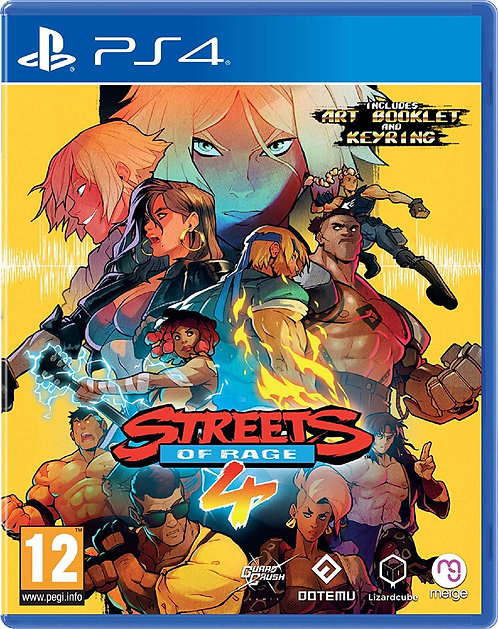 Streets Of Rage 4 | PS4