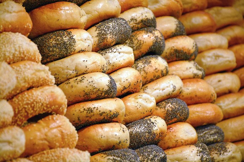 Rows of freshly made bagels.jpg