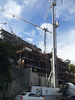 Clifton Terraces construction