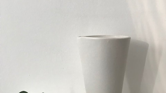 White Stoneware Beaker - MADE TO ORDER