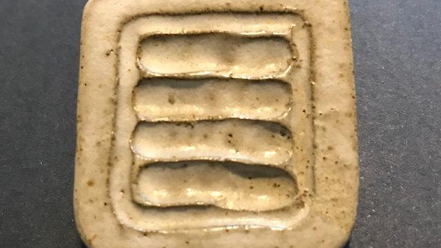 Ceramic Brooch