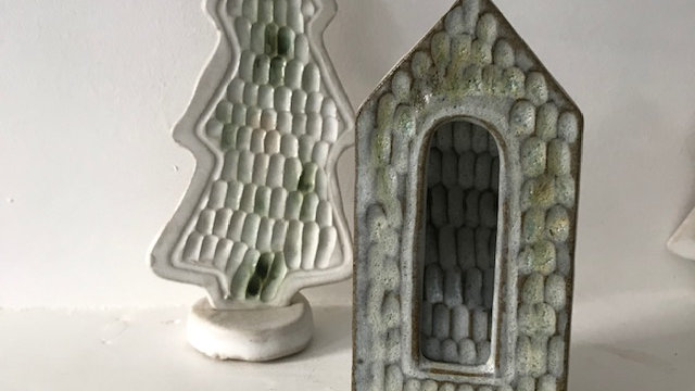 L9 Ceramic Cornish Mining House Lantern