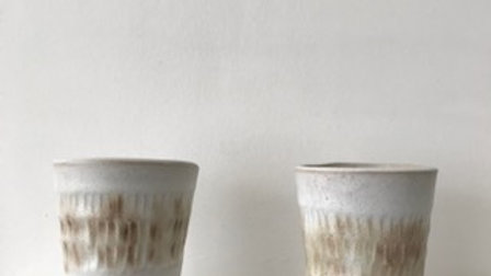 SC3 Small Stoneware Textured Cup