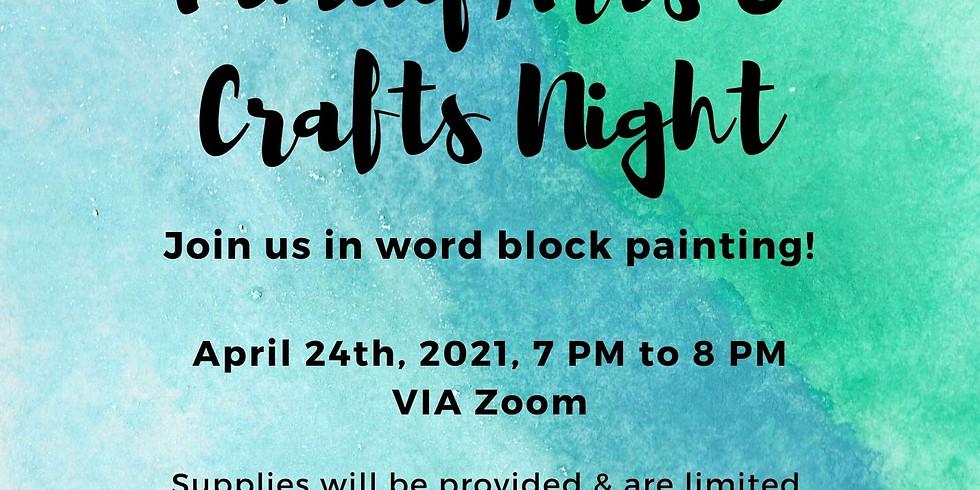 Arts & Crafts Night