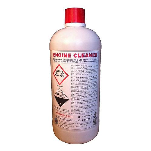 ENGINE CLEANER - Detergente concentrato liquido alcalino ad azione solvente