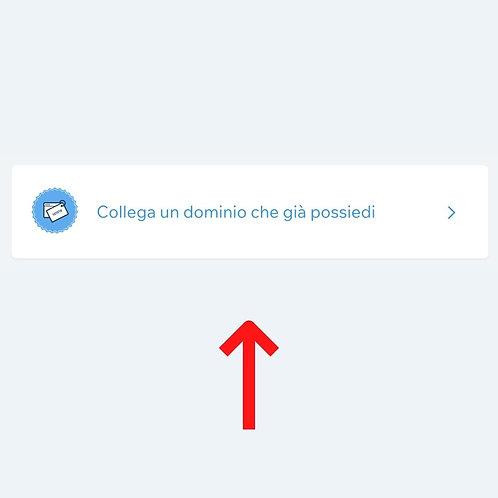 COLLEGAMENTO DOMINIO aruba/register