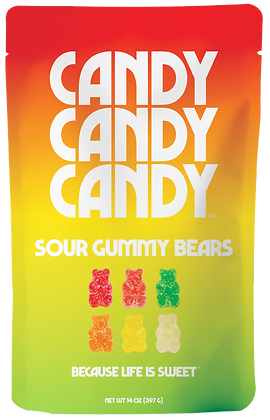 Sour Bears, 14 Ounce