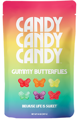 Gummy Butterflies, 14 Ounce