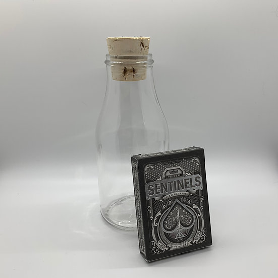 Impossible Bottle of Sentinels Playing Cards with Cellophane