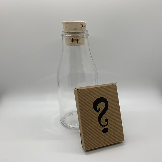 Impossible Bottle of Mystery Box Playing Cards with Cellophane