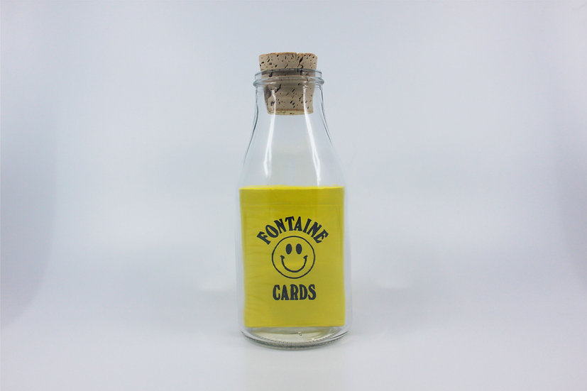 Impossible Bottle of Chinatown Market x Fontaine Playing Cards with Cellophane