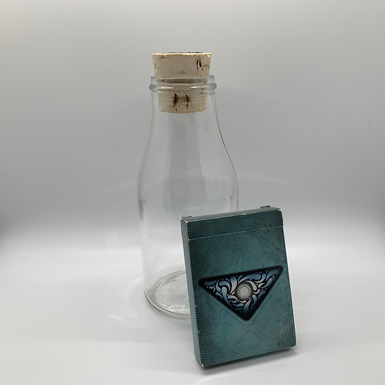 Impossible Bottle of Fathom Playing Cards with Cellophane