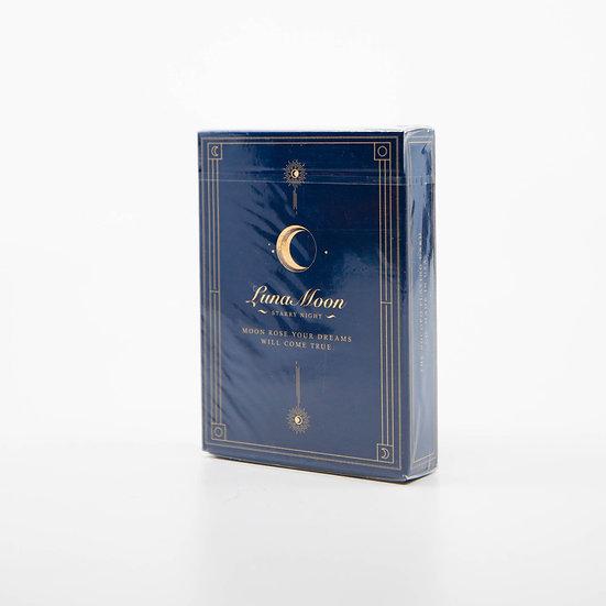 OG Blue Luna Moon Standard Edition Playing Cards