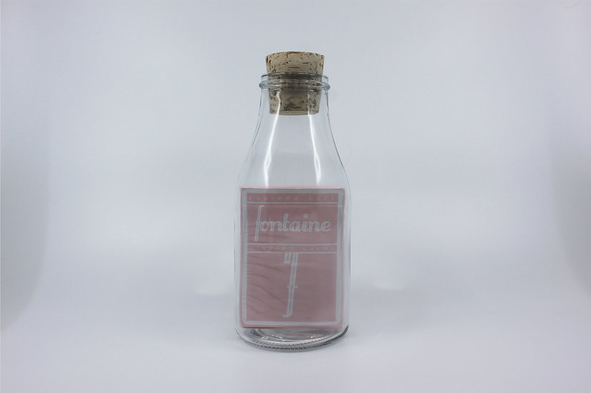 Impossible Bottle of Pink Fontaine Playing Cards with Cellophane