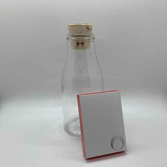 Impossible Bottle of Red Saturn Playing Cards with Cellophane