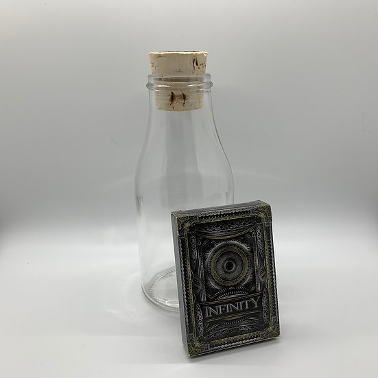 Impossible Bottle of Infinity Playing Cards with Cellophane