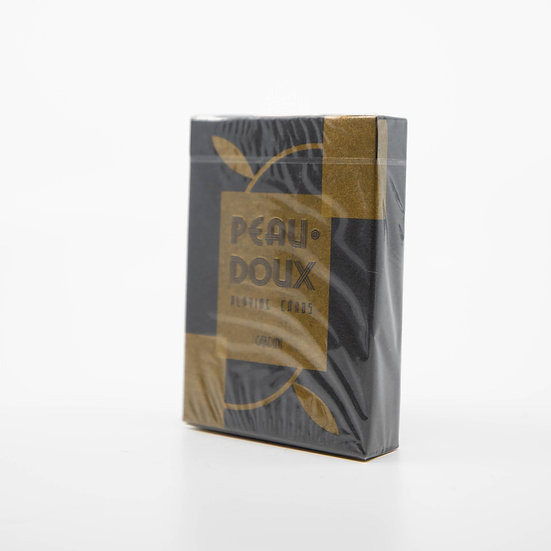 Gold Peau Doux Playing Cards