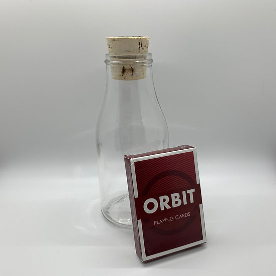 Impossible Bottle of Orbit V2 Playing Cards with Cellophane