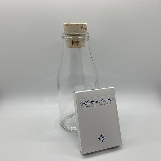 Impossible Bottle of Madison Blue Dealers Playing Cards with Cellophane