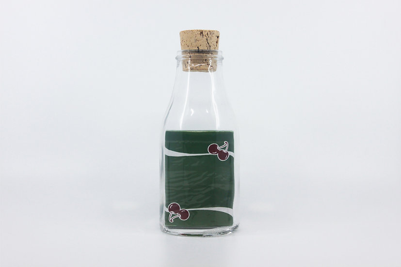 Impossible Bottle of Cherry Casino Sahara Greens Playing Cards with Cellophane