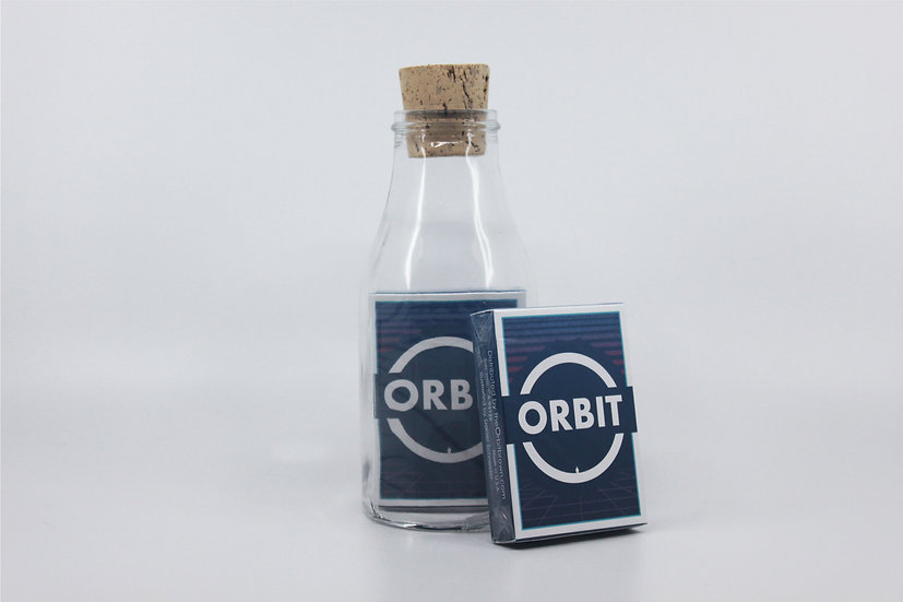 Impossible Bottle of Orbit V7 Playing Cards with Cellophane