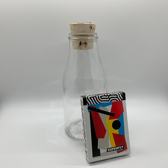 Impossible Bottle of Superfly Stardust Playing Cards with Cellophane