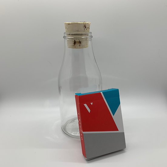 Impossible Bottle of Virtuoso SS15 Playing Cards with Cellophane