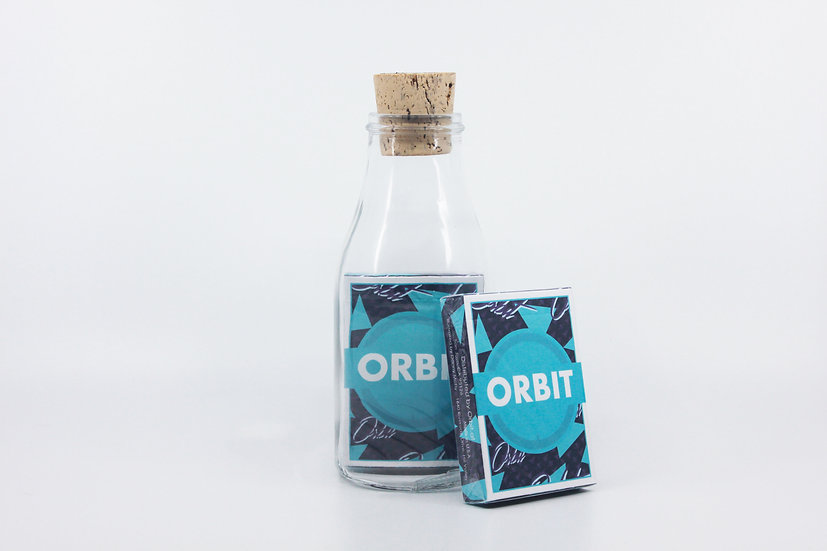 Impossible Bottle of Orbit V7P Playing Cards with Cellophane