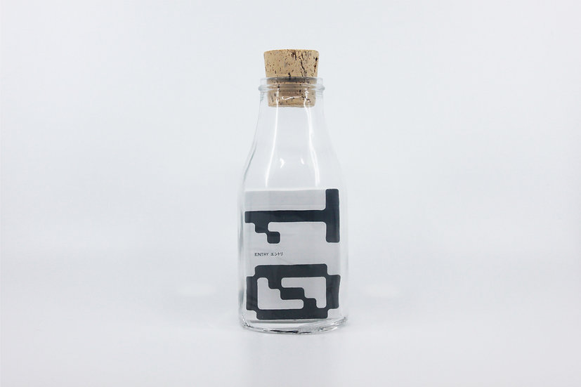 Impossible Bottle of Entry 01 Drops' Playing Cards with Cellophane