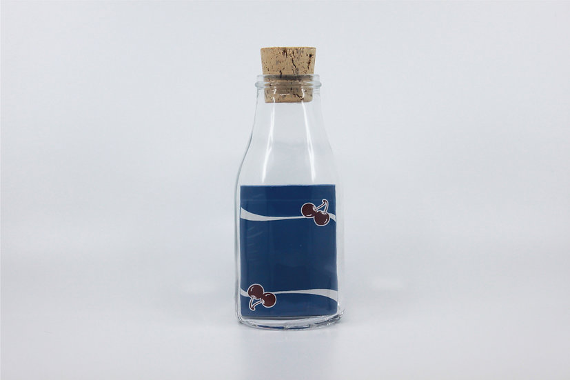 Impossible Bottle of Cherry Casino Tahoe Blue Playing Cards with Cellophane