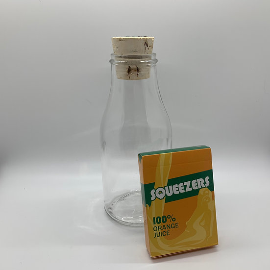 Impossible Bottle of Squeezers Playing Cards with Cellophane