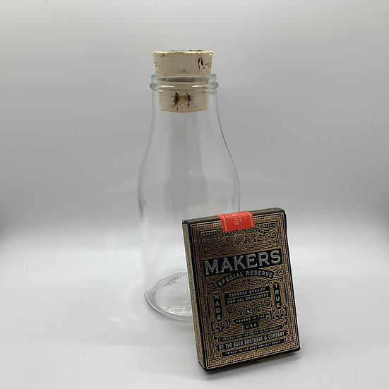 Impossible Bottle of Makers: Blacksmith Edition Playing Cards with Cellophane