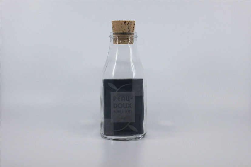 Impossible Bottle of Peau Doux Silver Playing Cards with Cellophane